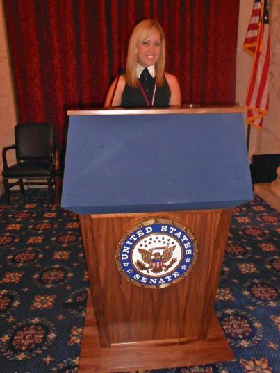 On Capitol Hill speaking out for Arthritis Advocacy! Fall 2011