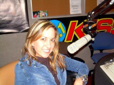 On-air as DJ Bonics intern at 96.1 KISS fm, a Clear Channel Communications Station, circa 2007