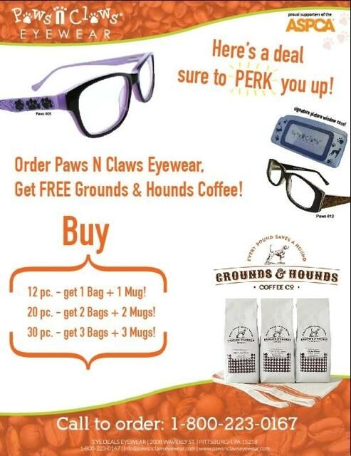 b5c213dbd654 Paws N Claws Eyewear Joins Grounds   Hounds Coffee Co. to Help ...